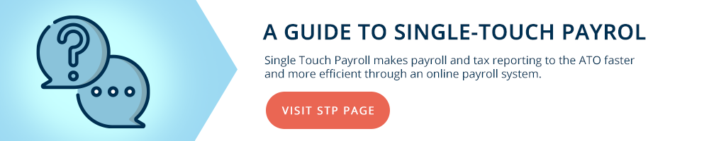 Single Touch Payrol STP Guide