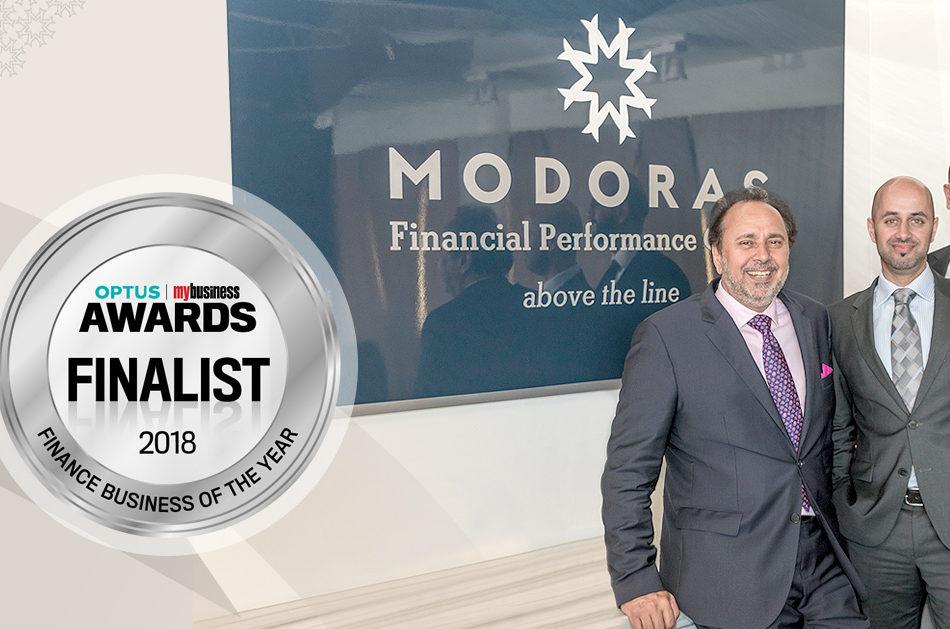 2018 Optus Business Awards Finalist