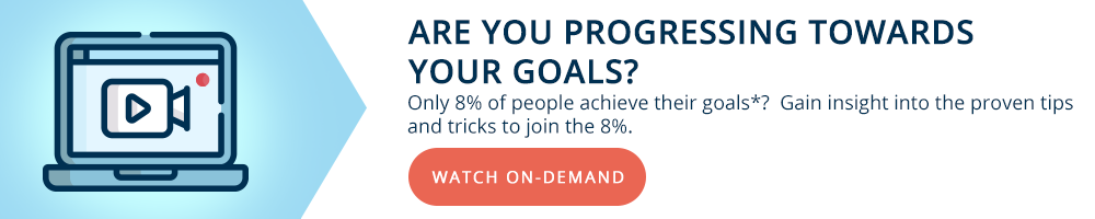 Progress towards your goals - Modoras