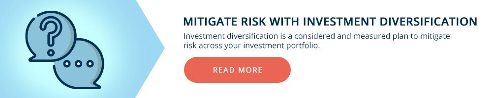 Investment Diversification Mitigate RIsk