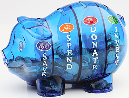 Money Savvy Piggy Bank