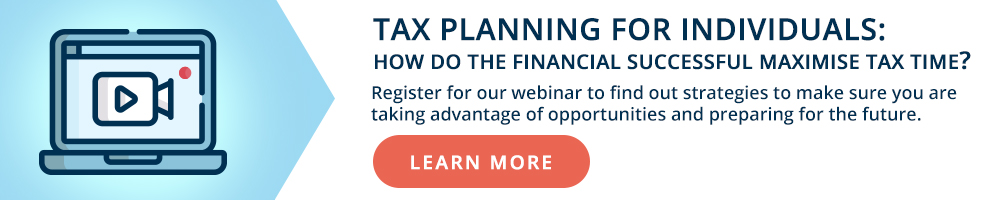Tax Planning for Individuals Webinar