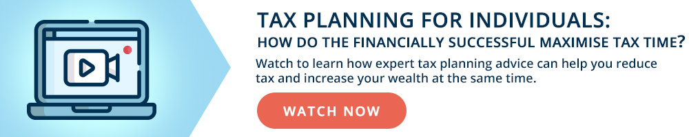 Tax Planning for Individuals Webinar on Demand